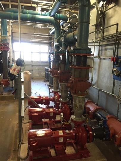 Condenser Pumps side view