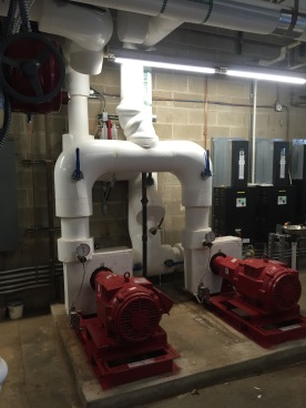 New Chilled water Pumps