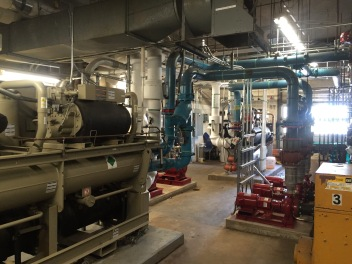Refurbished Mechanical Room